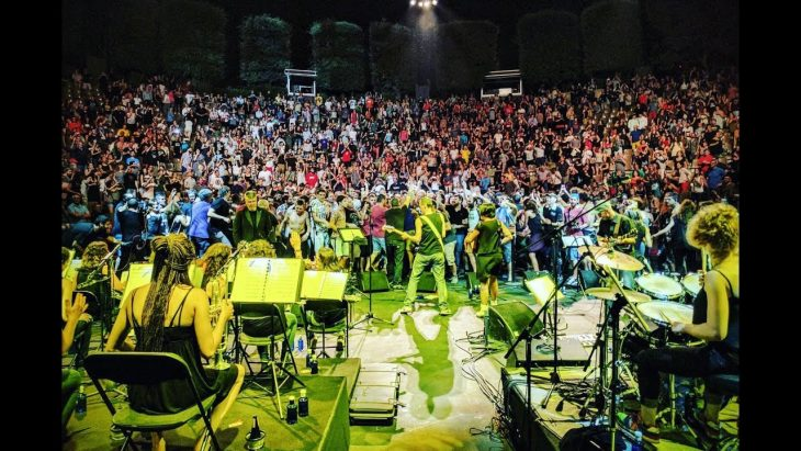 FERMIN MUGURUZA eta MICAELA CHALMETA BIG BAND - Festival Grec 2017 (BQ)